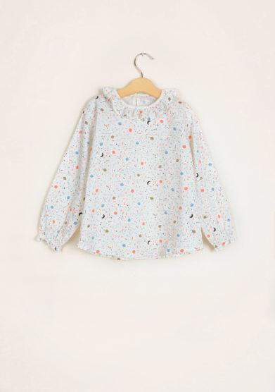 I MARMOTTINI - Girl's blouse Galassia