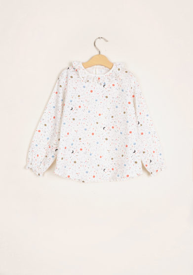 I MARMOTTINI - Girl's blouse Galassia