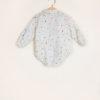 I MARMOTTINI - Boy's bodysuit Galassia with round collar