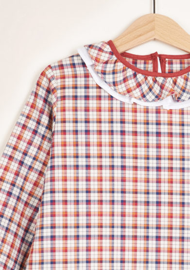 I MARMOTTINI - Checked blouse Giramondo
