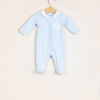 BARONI - Light blue chenille jumpsuit