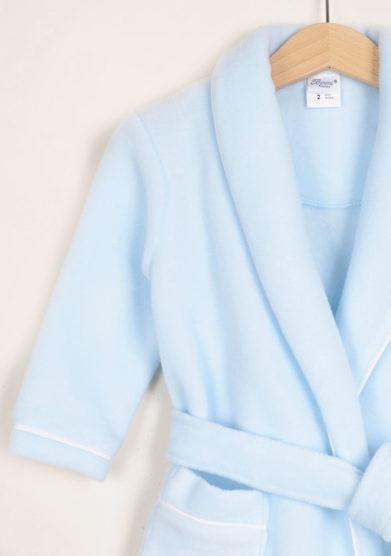 BARONI - Boy's lightblue pile nightgown