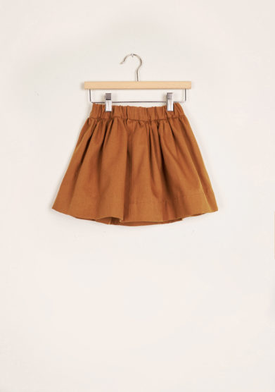 I MARMOTTINI - Girl's Galassia cotton pleated skirt