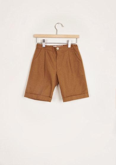 I MARMOTTINI - Mustard Galassia shorts