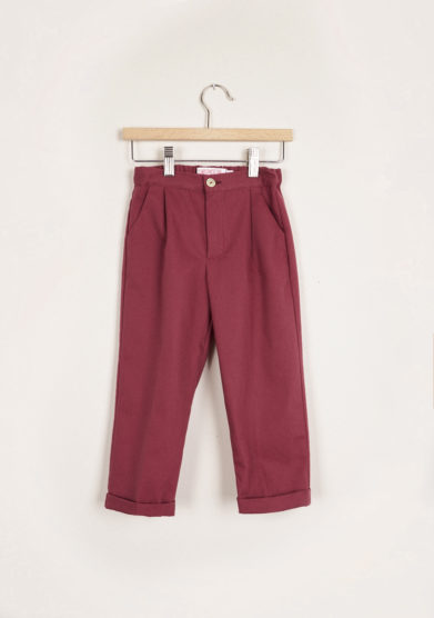 I MARMOTTINI - Bordeaux Giramondo trousers