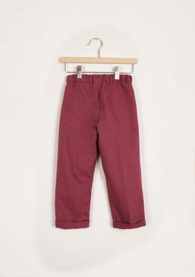 I MARMOTTINI - Bordeaux Giramondo trousers