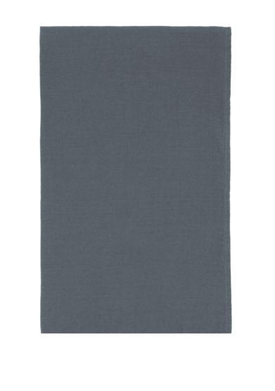 ONCE MILANO - Light blue linen bath sheet
