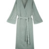 ONCE MILANO - Sage linen dressing gown