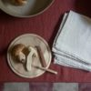 ONCE MILANO - Set of 2 cream linen napkins