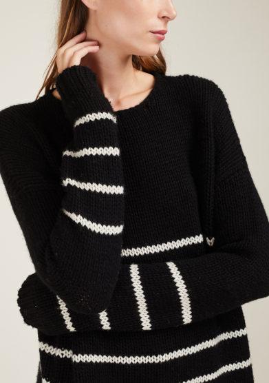 IRREPLACEABLE ELISA GIORDANO - Freddie striped wool sweater