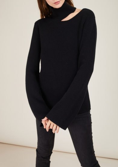 IRREPLACEABLE ELISA GIORDANO - Wool and cashmere-blend Eva sweater