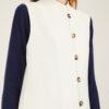 SCILÉ - Camel long cashmere and silk vest
