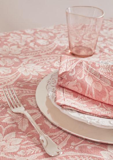 BUSATTI - Pink salmon donna di coppe napkin