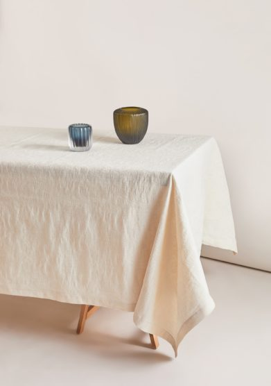 BUSATTI - Cream Donna di Coppe tablecloth