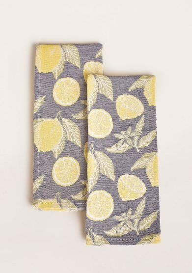 BUSATTI - Limoncello kitchen towel (set of two)