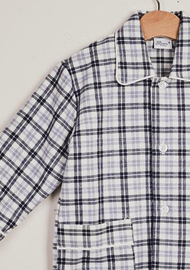 BARONI - Boy's tartan flannel pajamas