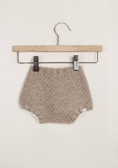 FAGIOLINO CASHMERE - Beige Patatino cashmere short