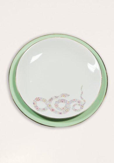 DALWIN DESIGNS - Moroccan snake dinner plate