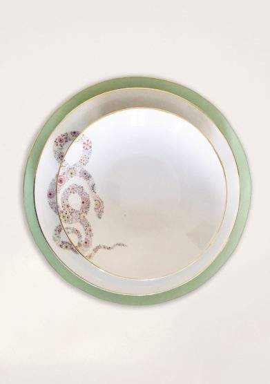 DALWIN DESIGNS - Moroccan snake soup plate