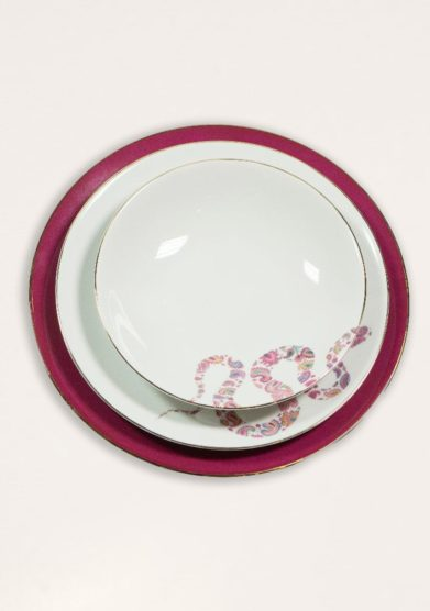 DALWIN DESIGNS - Indian snake soup plate