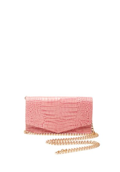Amma borsa tracolla pelle rosa