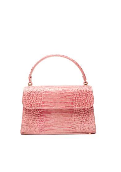 Borsa piccola amma stampa cocco rosa