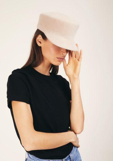 Anperfect cappello con tesa beige