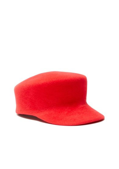 Cappello anperfect bakerboy rosso
