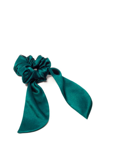 Scrunchies seta verde marzoline