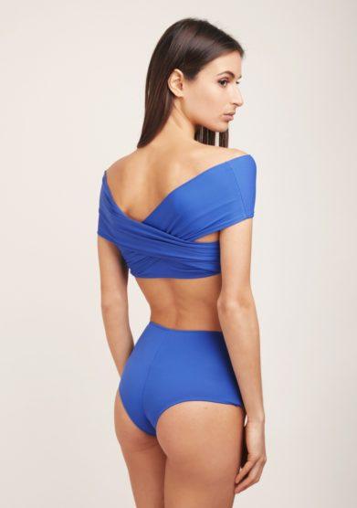 Solo blu bikini incrocio blu acai
