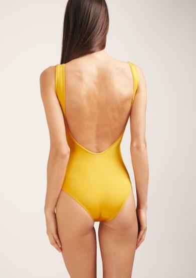 Soloblu costume intero giallo