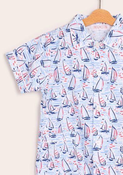 I marmottini pigiama bambino barche
