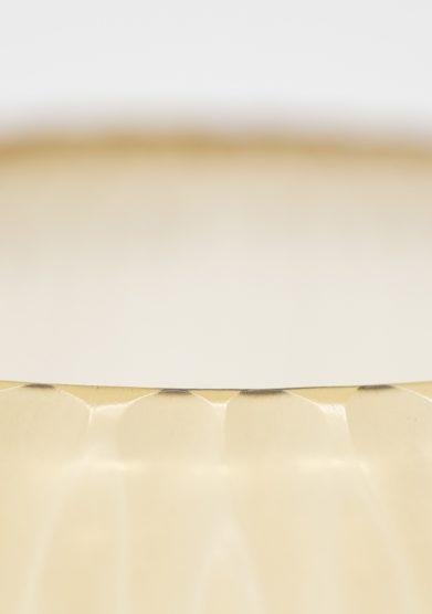 Micheluzzi glass vaso vetro murano soffiato a mano color oro