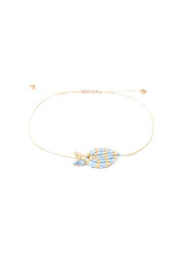 Bracciale orsina dansi pesce oro azzurro