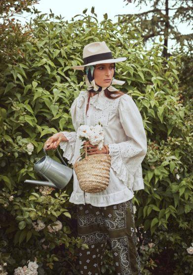 Madame Pauline camicia ricami e pizzo primi del novecento