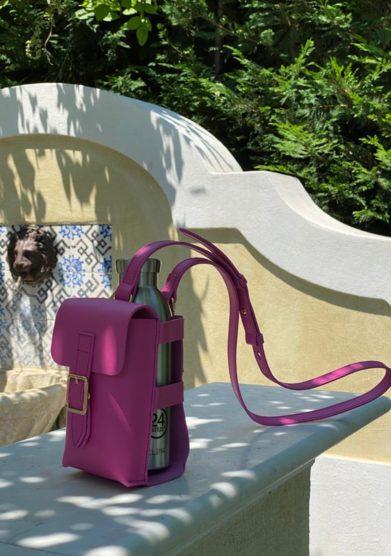 borsa bottle bag rosa officina del poggio palazzo avino
