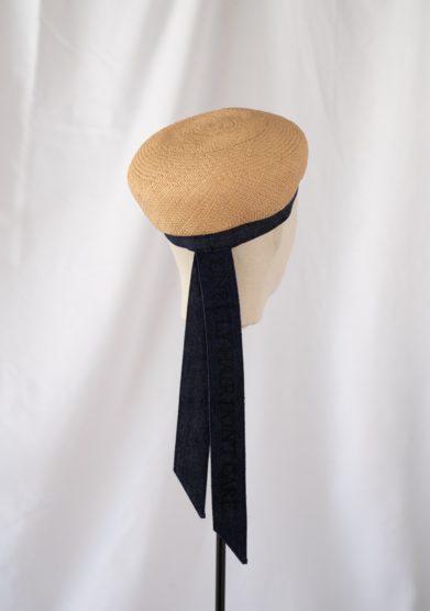 Cappello basco anperfect paglia panama naturale