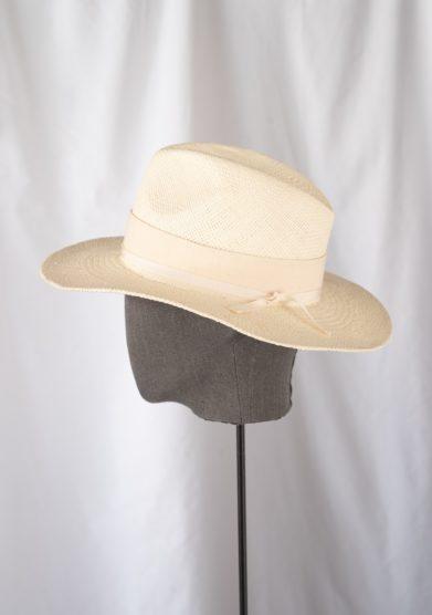 Anperfect cappello fedora paglia panama avorio estelle