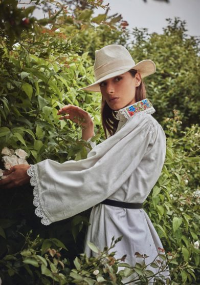 cappello fedora panama avorio estelle anperfect