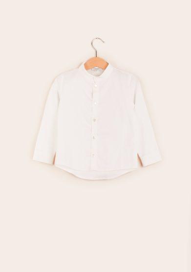camicia bambino bianca in cotone estelle milano