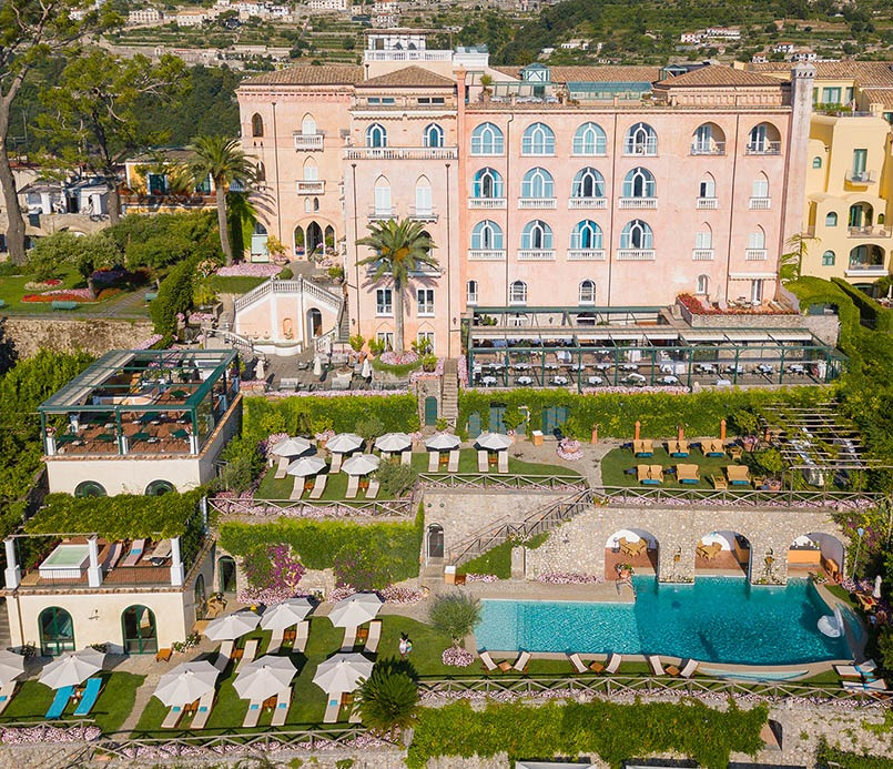 Palazzo Avino The Pink Palace TDS Italian Summer