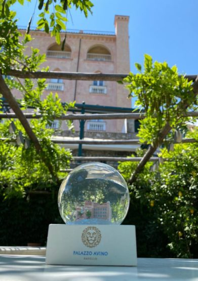 Palazzo avino magicbal waterball the pink palace