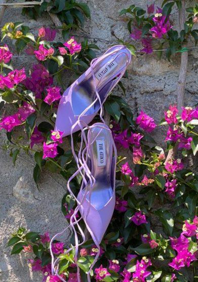 the attico scarpe sling back venus lilla palazzo avino