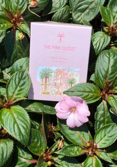 the pink closet lemon scent palazzo avino