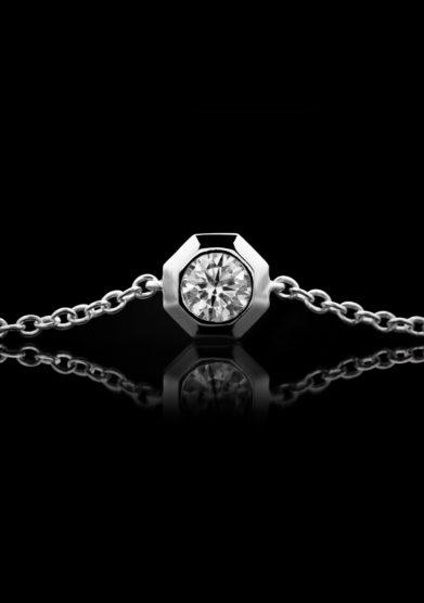 Roberto Callegari bracciale 110 diamante argento