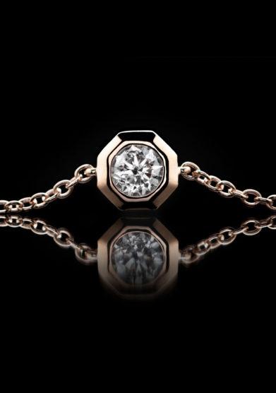 Roberto Callegari bracciale 110 oro rosa diamante exclusive