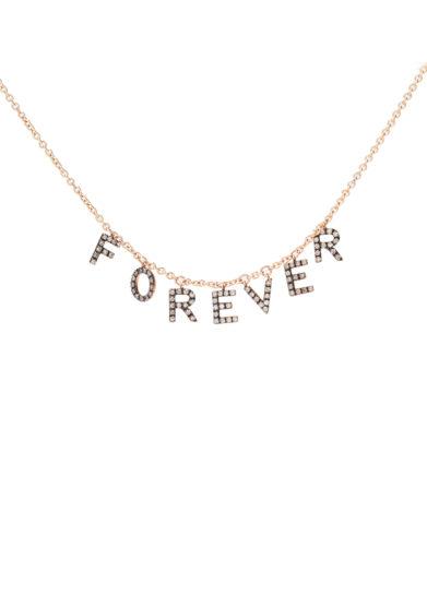 Roberto Callegari collana girocollo personalizzabile oro rosa diamanti