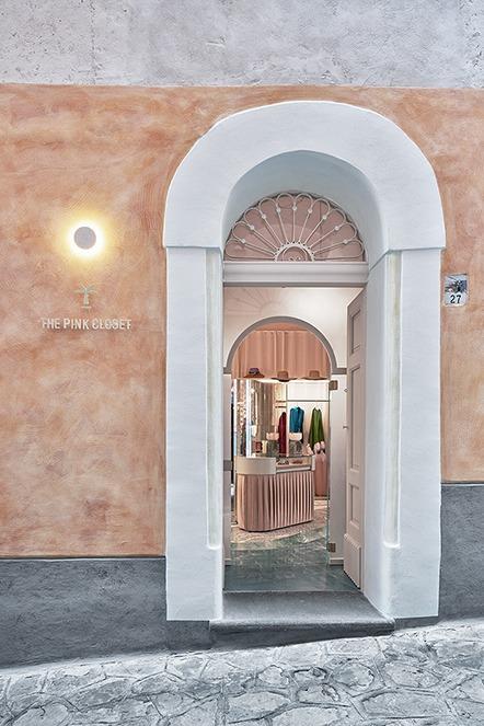 The Pink Closet Palazzo Avino Amalfi Coast
