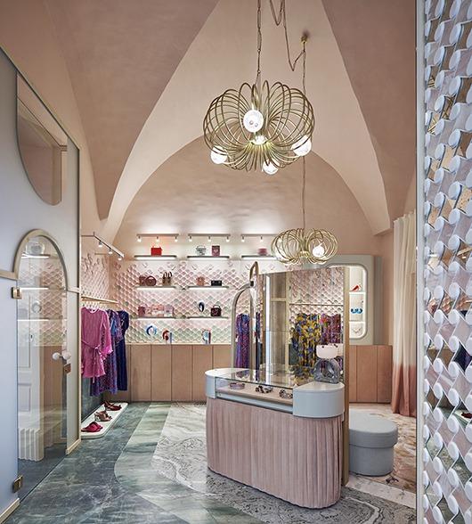 The Pink Closet Palazzo Avino Boutique Amalfi Coast
