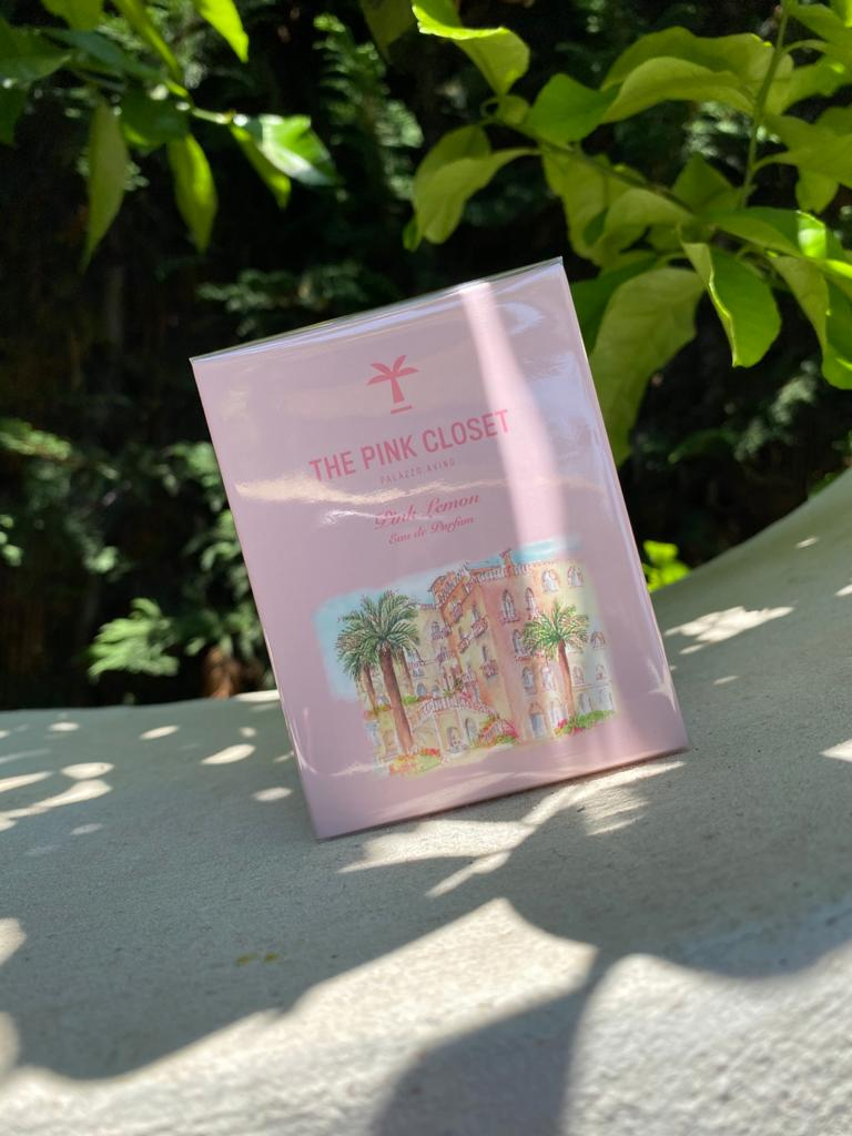 Palazzo Avino The Pink CLoset Lemon Scent